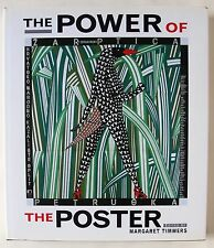 THE POWER OF THE POSTER / V & A PUBLICATIONS 1998 / HARDBACK WITH DUST-WRAPPER