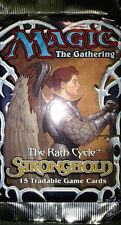 Magic Mtg Magic Stronghold Factory sealed Booster Pack X 3 !