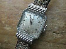 vintage ladies rare movado mechanical watch,,for restoration,,, ticks