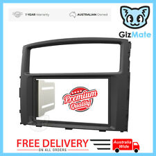 Double DIN Black Dash Facia Fascia Kit for Mitsubishi Pajero NS NT NW 2006-2014