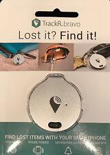 TrackR bravo Generation 2 GPS Tracker, Silver - FREE SHIPPING