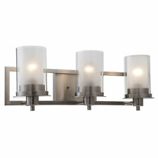 Satin Nickel Juno Series 3 Light Bath & Wall Fixture: 73472