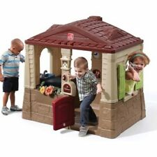 Step2 Neat And Tidy Cottage II Pretend Play House Toy Outdoor Children Kids Fun