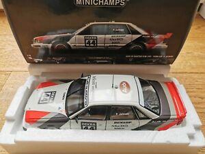 Audi Modellauto Audi V8 quattro DTM Team AZR Nr.44 Minichamps limitiert 1:18