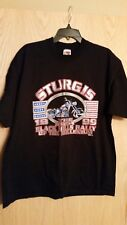 mens T-shirt sturgis The Last Black Hills Rally of the Millenium