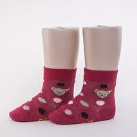 STEIFF® Mädchen Socken Söckchen Punkte Altrosa Bär 62-128 H//W 2018-19 NEU!