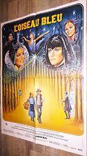 L' OISEAU BLEU  !  elizabeth taylor affiche cinema 1976