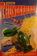 MATCHBOX TOYS: THUNDERBIRD 2: FINA COLLECTION 1993: WITH FINA STAMPS: UNOPENED.