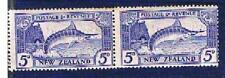 NEW ZEALAND 1935 - 5d Sword Fish Mint - pair