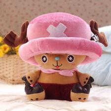 "Nice Stuffed One Piece Tony Tony Chopper Holding Fan Plush Doll 19"" High"