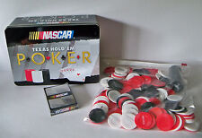 Nascar TEXAS HOLD EM Poker Set w/ Tin Holder USAopoly