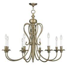 Livex Lighting Caldwell Chandelier in Antique Brass - 5168-01