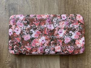 Floral Hinge Wallet