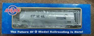Atlas O 6302-1 Conrail ACF 3-Bay Cylindrical Hopper CR #885017