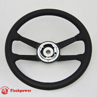 15'' Reproduction VDM Leather steering wheel Restoration Porsche 911 912 914