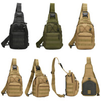 Outdoor Shoulder Military Backpack Travel Camping Hiking Trekking Bag Breathable