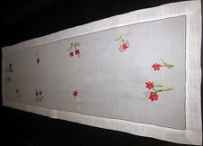 Tischdecken Handarbeiten Rote Amaryllis Große Läufer 50x150cm