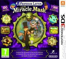 Professor Layton and the Miracle Mask (3DS) PEGI 7+ Adventure: Point and Click