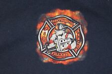 """XL Fire Rescue Continental Village FG """"Working the goat trail since 1950"""" shirt"""