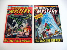 *JOURNEY INTO MYSTERY V. 2 #1-17 LOT 12 Books Guide $100