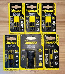 "Kango 1/4"" Quick Change MXM Impact Adaptor  + 5 Different Fittings"