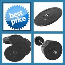 BLACK 5KG A-GRADE CLUB Series Olympic  Size  RUBBER BUMPER  GYM WEIGHT PLATE