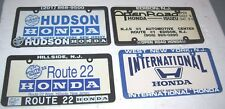 4 Honda  Frames and inserts Open Road- Route 22  International- & Hudson 1 bid