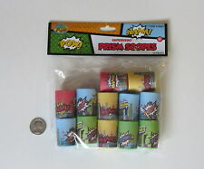 12 Superhero Mini Prism Scopes Toy Birthday Party Goody Bag Favor Pinata Supply