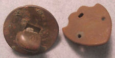 Civil War Relic Brass Drum Attachments: Tightener and Shield