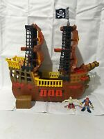 2006 Fisher-Price Imaginext Pirate Ship L1284 w/Figures and Accessories, Retired