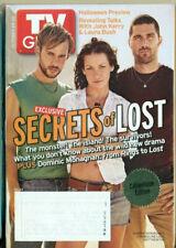 Tv Guide -2004 - Lost - Evangeline Lilly - Matthew Fox + Laura Bush + Enterprise