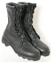 Altama PJ10-03 5400 Military Black Lace-Up Leather Combat Boots Men's US 4.5W