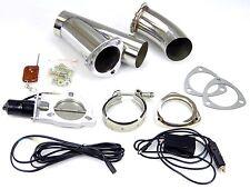 76 mm elektrische Auspuff-Klappe Klappen-Steuerung regelbar System Zusatzrohr