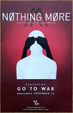 NOTHING MORE Stories We Tell Ourseives 2017 Ltd Ed RARE Poster +FREE Rock Poster