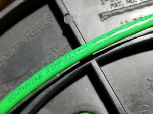 Southwire #8awg SIMpull THHN/THWN-2 Stranded Copper Building Wire Green /100ft
