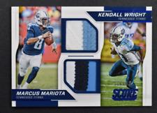 2016 Score Dual Jerseys Prime #8 Marcus Mariota Kendall Wright Jersey /10 NM-MT