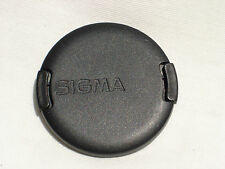 Genuine SIGMA 52mm front lens cap (model #2)
