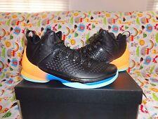 Nike Air Jordan Melo M11 Black Bright Citrus 716227-013,US 11