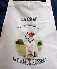 JACK RUSSELL TERRIER DOG APRON DESIGN KITCHEN ACCESSORY SANDRA COEN ARTIST PRINT