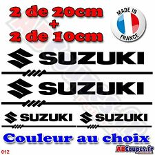 4 stickers autocollants SUZUKI - Decals Gladuis Bandit GSXR GSXF - 012
