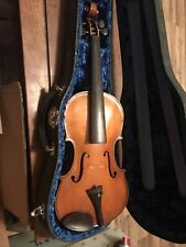 Violin & Case 1930-31 San Angelo Texas Made By Fred Wilson