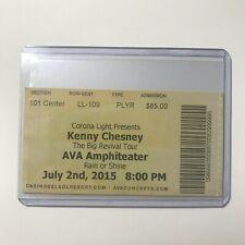 Kenny Chesney Big Revival Tour Corona Light Presents Concert Ticket Stub 2015