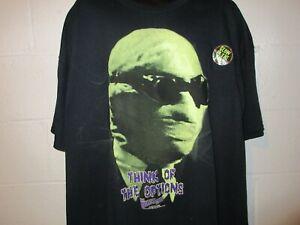 Universal Monsters Invisible Man Glow in the Dark GITD T-Shirt 3XL XXXL