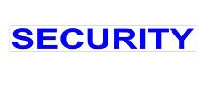 SECURITY REFLECTIVE MAGNET K9 HANDLER  SITE  PATROL DOG SIA UNIT  620mm x 1