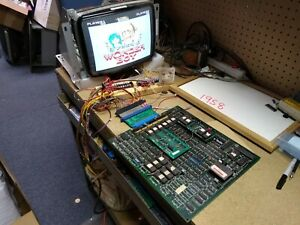 WONDERBOY - 1986 Sega System 8 -Guaranteed Working non-JAMMA Arcade PCB ORIGINAL