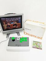 Sega Dreamcast Arcade Stick HKT-7300 Boxed & Jojo's Bizarre Adventure Japan