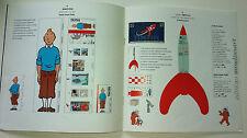 TINTIN HERGE moulinsart le secret de l'image en action 1999 fusée toise agenda