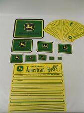 Lot of 63 Miscellaneous John Deere Bumper Sticker / Decals