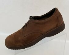 Rockport Oxford Womens Brown Leather Suede Lace Up Shoes Size 8.5M