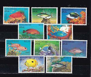 1992 fish,set MNH Sc 1656/65              h1218